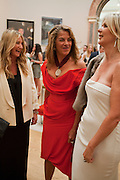 ANYA HINDMARCH; TRACEY EMIN; AMANDA WAKELEY, Royal Academy of Arts Summer Exhibition Preview Party 2011. Royal Academy. Piccadilly. London. 2 June <br /> <br />  , -DO NOT ARCHIVE-© Copyright Photograph by Dafydd Jones. 248 Clapham Rd. London SW9 0PZ. Tel 0207 820 0771. www.dafjones.com.