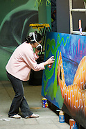 20080402 Artist Lady Pink