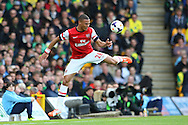 Kieran Gibbs of Arsenal in action during the Barclays Premier League match at Carrow Road, Norwich<br /> Picture by Paul Chesterton/Focus Images Ltd +44 7904 640267<br /> 11/05/2014