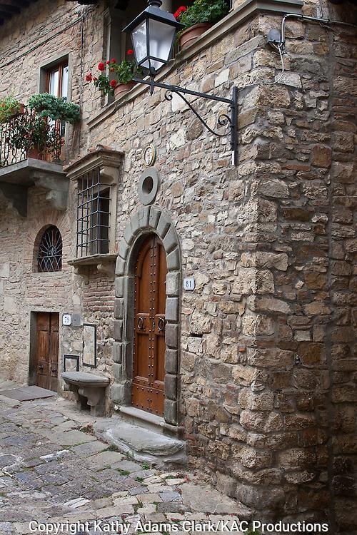 Montefioralle, Chianti Region, Tuscany, Italy