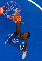 Florent Pietrus of France during basketball game between National basketball teams of Lithuania and France at FIBA Europe Eurobasket Lithuania 2011, on September 9, 2011, in Siemens Arena,  Vilnius, Lithuania. France defeated Lithuania 73-67.  (Photo by Vid Ponikvar / Sportida)