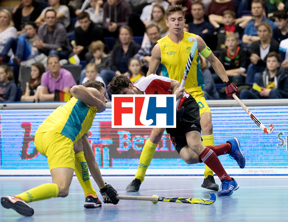 BERLIN - Indoor Hockey World Cup<br /> Semi-final 2: Australia - Austria<br /> foto: Alexander Bele.<br /> WORLDSPORTPICS COPYRIGHT FRANK UIJLENBROEK
