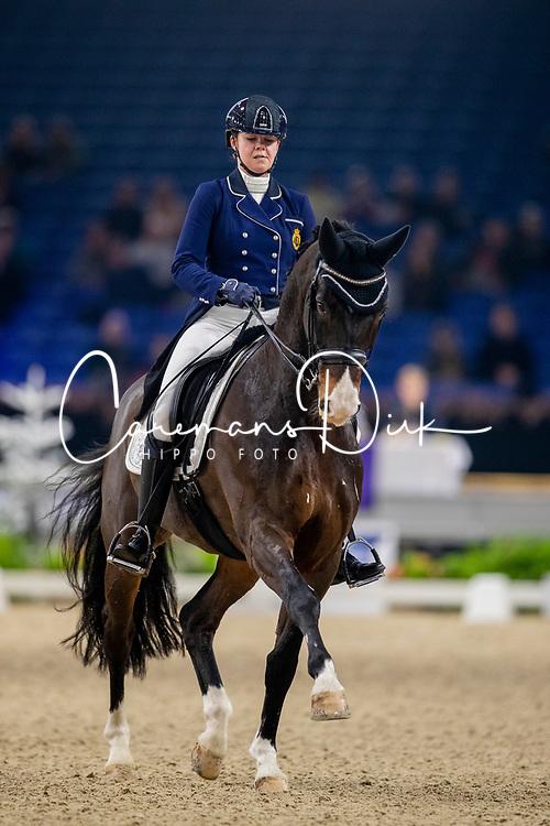 Roos Laurence, BEL, Fil Rouge<br /> Jumping Mechelen 2019<br /> © Hippo Foto - Dirk Caremans<br />  28/12/2019