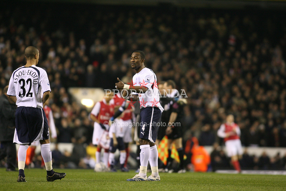 London, England - Wednesday, January 24, 2007: Arsenal against Tottenham Hotspur's Didier Zakora during the League Cup Semi-Final 1st Leg at White Hart Lane. (Pic by Chris Ratcliffe/Propaganda)