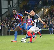 Temuri Ketsbaia  runs at the Crystal Palace defence - Crystal Palace v Dundee - Julian Speroni testimonial match at Selhurst Park<br /> <br />  - © David Young - www.davidyoungphoto.co.uk - email: davidyoungphoto@gmail.com