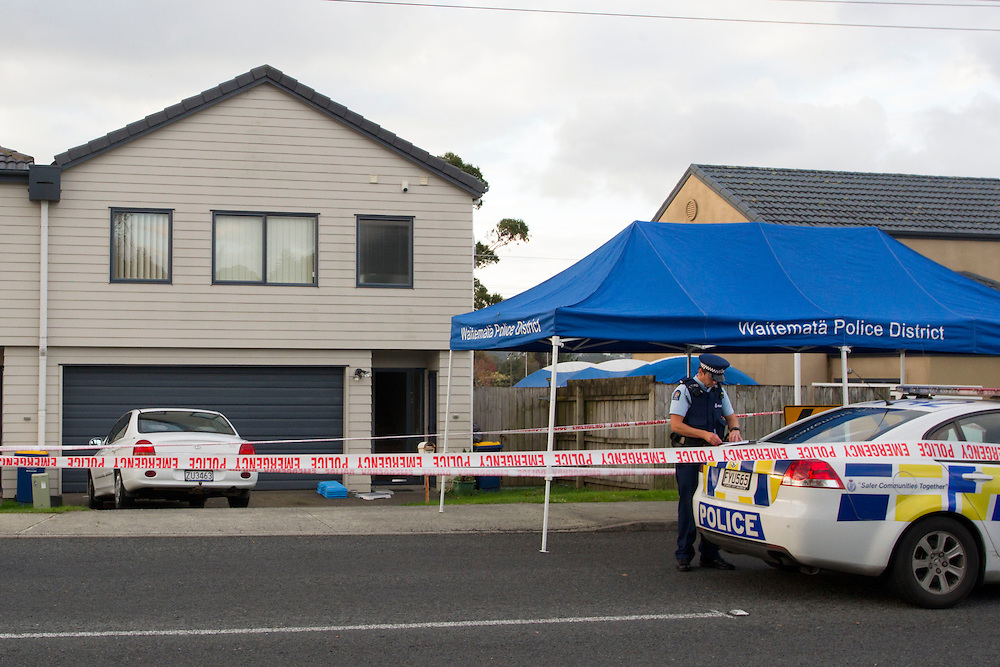 Two women have been found dead at a home in Pooks Road, Ranui, New Zealand, Monday, May 19, 2014.  Credit:SNPA / David Rowland