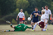 Cumberland County College men's soccer at County College of Morris in Randolph, NJ on Saturday September 20, 2014. (photo / Mat Boyle)