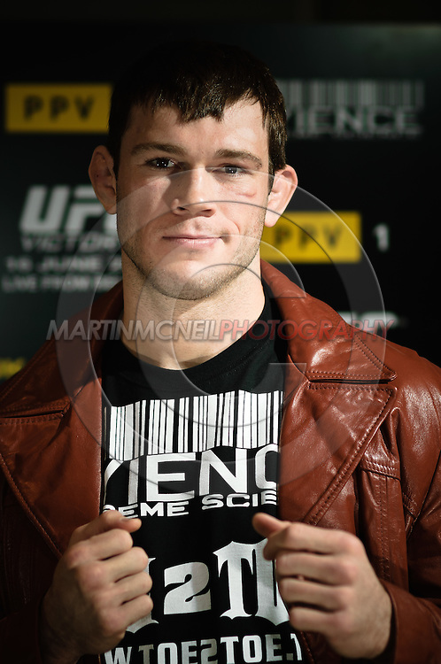 A portrait of mixed martial arts athlete Forrest Griffin