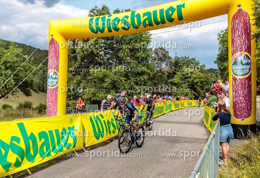 04.07.2017, Pöggstall, AUT, Ö-Tour, Österreich Radrundfahrt 2017, 2. Etappe von Wien nach Pöggstall (199,6km), im Bild Wiebauer Bergwertung Stefan Denifl (AUT, Aqua Blue Sport) // during the 2nd stage from Vienna to Pöggstall (199,6km) of 2017 Tour of Austria. Pöggstall, Austria on 2017/07/04. EXPA Pictures © 2017, PhotoCredit: EXPA/ JFK