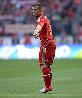 FUSSBALL   1. BUNDESLIGA  SAISON 2012/2013   3. Spieltag FC Bayern Muenchen - FSV Mainz 05     15.09.2012 Xherdan Shaqiri (FC Bayern Muenchen)