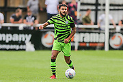 Forest Green Rovers Dominic Bernard(3) during the Pre-Season Friendly match between Bath City and Forest Green Rovers at Twerton Park, Bath, United Kingdom on 27 July 2019.