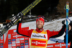 13.12.2014, Davos, SUI, FIS Langlauf Weltcup, Davos, 15 km, Herren, im Bild Martin Johnsrud Sundby (NOR) // during Cross Country, 15km, men at FIS Nordic world cup in Davos, Switzerland on 2014/12/13. EXPA Pictures &copy; 2014, PhotoCredit: EXPA/ Freshfocus/ Christian Pfander<br /> <br /> *****ATTENTION - for AUT, SLO, CRO, SRB, BIH, MAZ only*****