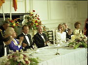 State Visit of King Juan Carlos and Queen Sophia of Spain to Ireland.<br /> 1986.<br /> 30.06.1986<br /> 06.30.1986.<br /> 30th June 1986.<br /> King Juan Carlos and Queen Sophia paid a state visit to Ireland at the invitation of President Hillery and the Irish people.<br /> The duration of the visit was three days.<br /> <br /> The Guests applaud the King after his address to the assembled dignitaries.
