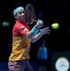 November 11, 2018 - Londres, France - Japanese Player Kei Nishikori  (Credit Image: © Panoramic via ZUMA Press)