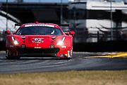 January 24-28, 2018. IMSA Weathertech Series ROLEX Daytona 24. 62 Risi Competizione, Ferrari 488 GTE, Alessandro Pier Guidi