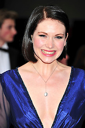 © under license to London News Pictures. 08/03/11.Emma Williams Attends The Olivier Awards at Theatre Royal Drury Lane London . Photo credit should read ALAN ROXBOROUGH/LNP