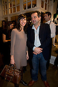 SABRINA KAICI; MARK HIX, The Launch of the Lanvin store on Mount St. Presentation and cocktails.  London. 26 March 2009