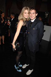 RICHARD DENNEN and INDIA STANDING at the Tatler magazine Summer Party, Home House, Portman Square, London W1 on 27th June 2007.<br />