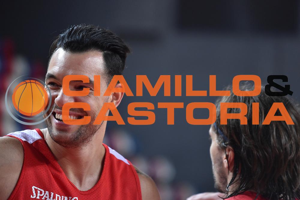 Awudu Abass<br /> Nazionale Italiana Maschile Senior<br /> Eurobasket 2017<br /> Allenamento<br /> FIP 2017<br /> Telaviv, 30/08/2017<br /> Foto Ciamillo - Castoria/ GiulioCiamillo