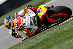 27.08.2010, Motor Speedway, Indianapolis, USA, MotoGP, Red Bull Indianapolis Grand Prix, im Bild Andrea Dovizioso - Repsol Honda team, EXPA Pictures © 2010, PhotoCredit: EXPA/ InsideFoto/ Semedia *** ATTENTION *** FOR AUSTRIA AND SLOVENIA USE ONLY!