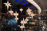 Stars in the atrium of the Time Warner Center in New York City