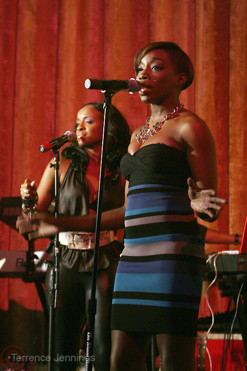 Estelle at R & B Live featuring Vocalist sensations Peter Hadar and Estelle at Spotlight Live on May 20, 2008 in New York City