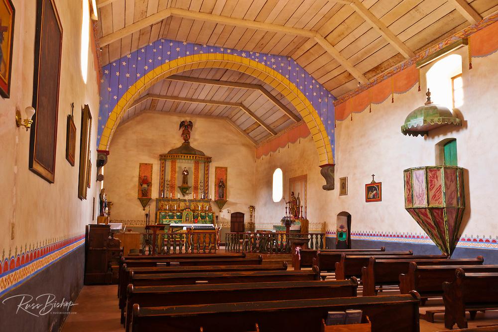 Chapel,  Mission San Antonio de Padua (3rd Mission-1771), Jolon, California