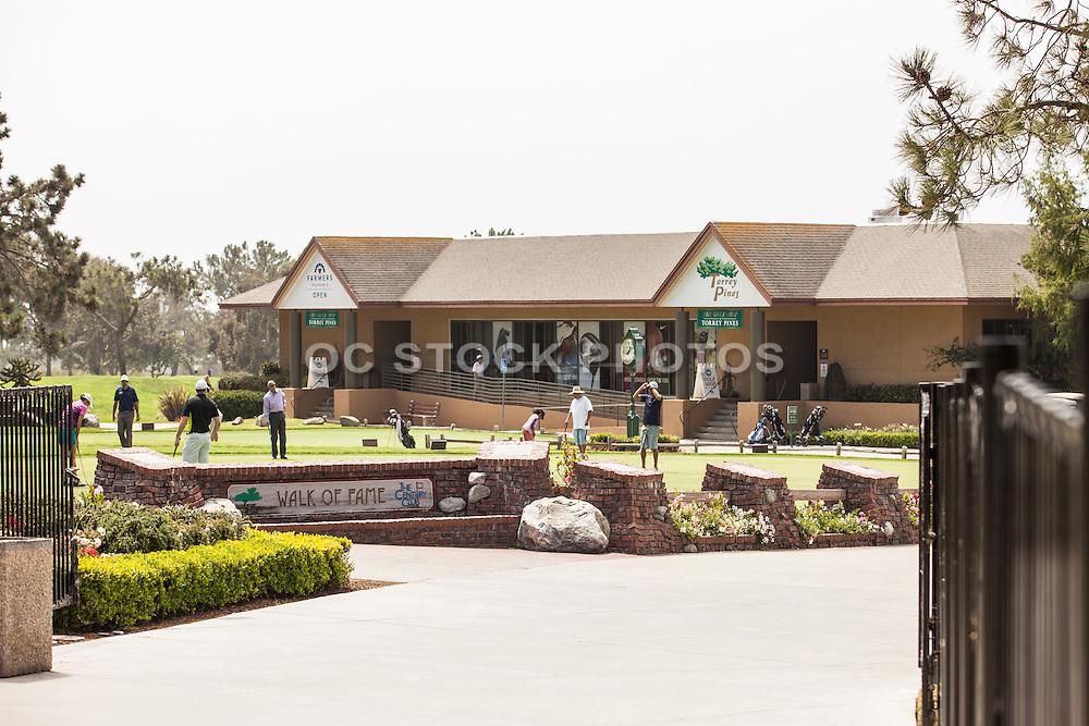 Torrey Pines Municipal Golf Course in La Jolla