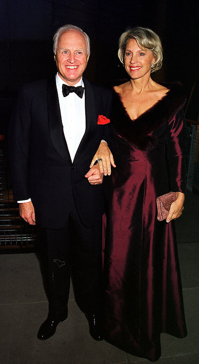 MR & MRS WINSTON CHURCHILL at a party in London on 29th January 2000.OAM 106