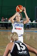 DESCRIZIONE : ARIANO IRPINO QUALIFICAZIONI XXX CAMPIONATO EUROPEO FEMMINILE 2005<br /> GIOCATORE : BALLARDINI<br /> SQUADRA : ITALIA<br /> EVENTO : QUALIFICAZIONI XXX CAMPIONATO EUROPEO FEMMINILE 2005<br /> GARA : ITALIA-BELGIO<br /> DATA : 10/08/2005<br /> CATEGORIA : <br /> SPORT : Pallacanestro<br /> AUTORE : Agenzia Ciamillo-Castoria