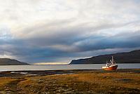 Islande. Fjord du Nord Ouest de Patreksfjordur. // Iceland. North Ouest Fjord of Patreksfjordur.