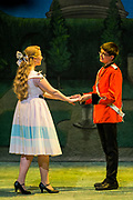Gilbert & Sullivan's The Sorcerer performed by Festival Youth Production in Harrogate Theatre, Harrogate, North Yorkshire, England on Saturday 18 August 2018 Photo: Jane Stokes<br /> <br /> Director - Sarah Helsby-Hughes<br /> Musical Director - Oliver Longstaff<br /> Wardrobe - Vivian Hamilton<br /> Stage Manager - Oliver Embourne