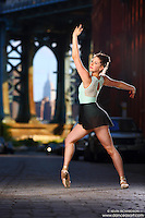 Dance As Art Photography Project- Dumbo Brooklyn, New York with dancer, Emily Malamet