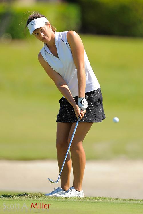 Miriam Nagl during the final round of the LPGA Futures Tour's Daytona Beach Invitational at LPGA International's Championship Course on April 3, 2011 in Daytona Beach, Florida... ©2011 Scott A. Miller