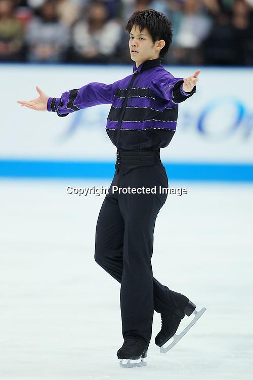 Takahiko Kozuka (JPN), OCTOBER 2, 2010 - Figure Skating : Takahiko Kozuka of Japan performs during Japan Open 2010 at Saitama Super Arena, Saitama, Japan. (Photo by Yusuke Nakanishi/AFLO SPORT) [1090]