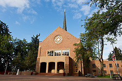 Karen Hille Phillips Center at Pacific Lutheran University on Tuesday, Sept. 17, 2013. (Photo/John Froschauer)