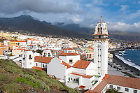 Espagne. Iles Canaries. Tenerife. Eglise de Candelaria. // Spain. Canary islands. Tenerife. Candelaria church.