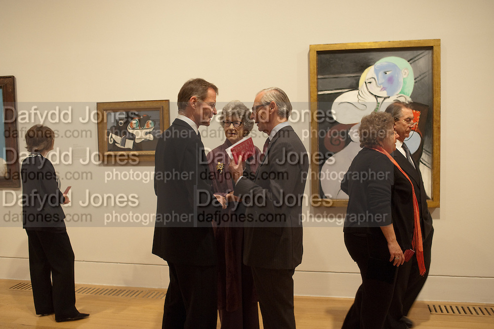 SIR NICHOLAS SEROTA; TIM SAINSBURY, Picasso and Modern British Art, Tate Gallery. Millbank. 13 February 2012