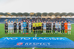 05.10.2016, Merkur Arena, Graz, AUT, UEFA Women's Champions League, SK Sturm Graz Damen vs FC Zuerich Frauen , 32. Runde, im Bild die Teams von SK Sturm Graz Damen und FC Zuerich Damen // during the UEFA Women's Champions League, 32th Round, between SK Sturm Graz Women and FC Zuerich Women at the Merkur Arena, Graz, Austria on 2016/10/05, EXPA Pictures © 2016, PhotoCredit: EXPA/ Dominik Angerer
