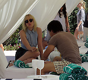 LACOSTE Beautiful Desert Pool Party in Thermal, California.<br />