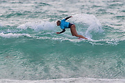 Rachel Presti (GER) Runner Up in Final of Longboard Pro Surfing Championships at Boardmasters 2019 at Fistral Beach, Newquay, Cornwall, United Kingdom on 11 August 2019.