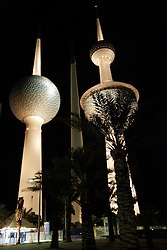 KUWAIT KUWAIT CITY SALMIYA 13MAR05 - The Kuwait Towers, a landmark of the Arab city state...jre/Photo by Jiri Rezac..© Jiri Rezac 2005..Contact: +44 (0) 7050 110 417.Mobile:  +44 (0) 7801 337 683.Office:  +44 (0) 20 8968 9635..Email:   jiri@jirirezac.com.Web:     www.jirirezac.com..© All images Jiri Rezac 2005 - All rights reserved.