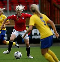 Fotball <br /> Privatlandskamp J16<br /> Fart Stadion <br /> 16.08.09<br /> Norge  v  Sverige  0-2<br /> Foto: Dagfinn Limoseth, Digitalsport<br /> Nina Thorne , Norge