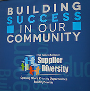 Houston ISD Supplier Diversity participates in a Houston Minority Supplier Development Council event, November 5, 2015.