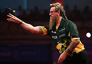 Simon Whitlock during the World Matchplay Darts 2019 at Winter Gardens, Blackpool, United Kingdom on 24 July 2019.
