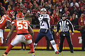 Jan 20, 2019-NFL-AFC Championship-New England Patriots at Kansas City Chiefs
