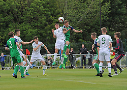 Republic of Ireland v Northern IrelandU16 Uefa development tournament United Park Westport.<br />