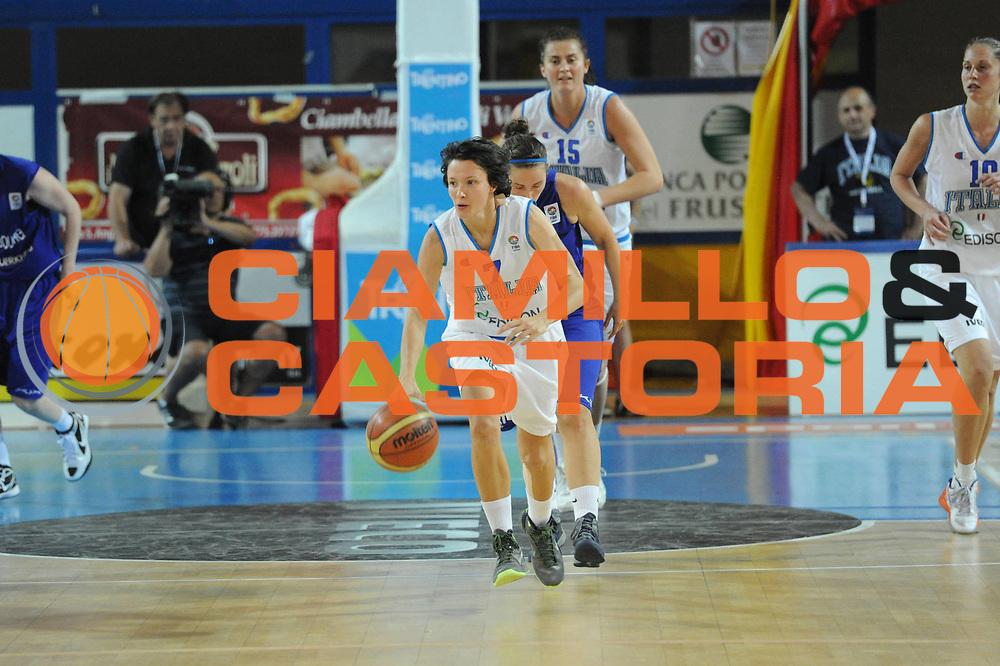 DESCRIZIONE : Frosinone Qualificazioni Europei Francia 2013 Italia Lussemburgo<br /> GIOCATORE : Giorgia Sottana<br /> CATEGORIA : palleggio<br /> SQUADRA : Nazionale Italia<br /> EVENTO : Frosinone Qualificazioni Europei Francia 2013<br /> GARA : Italia Lussemburgo Italy Luxembourg<br /> DATA : 20/06/2012<br /> SPORT : Pallacanestro <br /> AUTORE : Agenzia Ciamillo-Castoria/GiulioCiamillo<br /> Galleria : Fip 2012<br /> Fotonotizia : Frosinone Qualificazioni Europei Francia 2013 Italia Lussemburgo<br /> Predefinita :