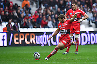 Leigh Halfpenny - 19.04.2015 - Toulon / Leinster - 1/2Finale European Champions Cup -Marseille<br /> Photo : Andre Delon / Icon Sport