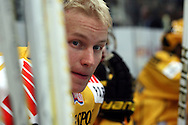 28.09.2010, H?meenlinna..J??kiekon SM-liiga 2010-11. .HPK - KalPa..Aleksis Ahlqvist - KalPa.©Juha Tamminen.